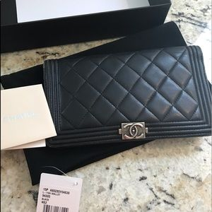 Chanel Boy Wallet 🔥